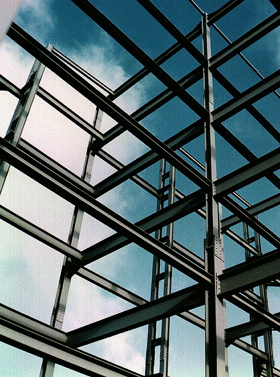 Structural Framing Fittings : Steel frame structure design reviews
